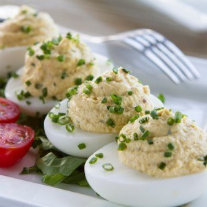 The Point Crab House - Deviled Eggs
