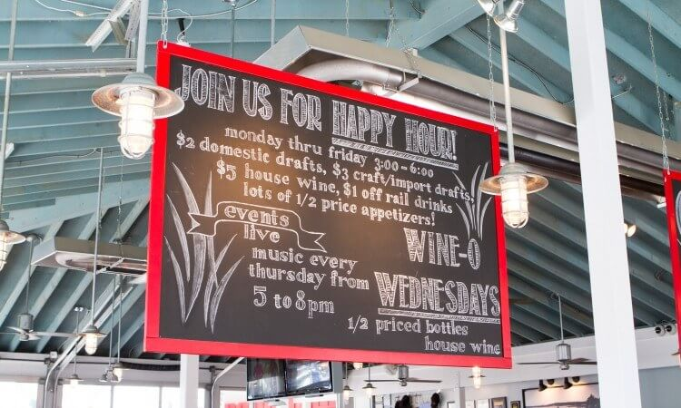 The Point Crab House - Happy Hour