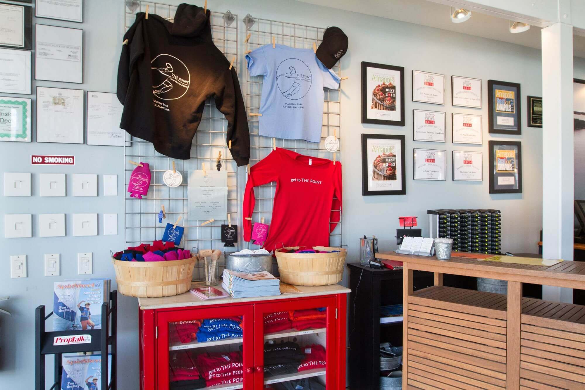 The Point Crab House - Merchandise
