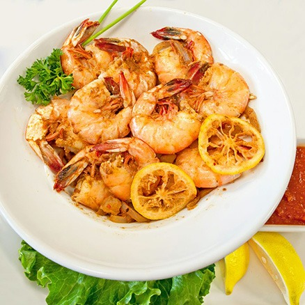The Point Crab House Steamed Shrimp