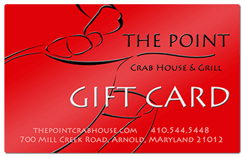 The Point Crab House Gift Card