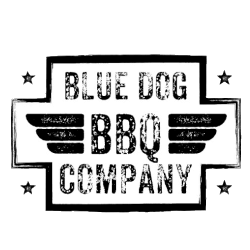 Blue Dog BBQ Company Logo